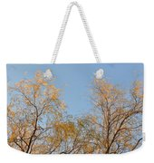 Willows And Sky Weekender Tote Bag