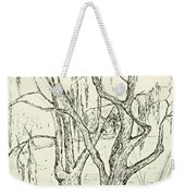 Willows By The Lake Weekender Tote Bag