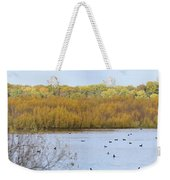Willows Of October Weekender Tote Bag