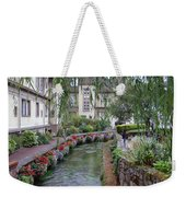 Willows Over The River Weekender Tote Bag