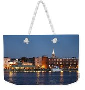 Wilmington At Night Weekender Tote Bag