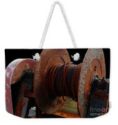 Winch - Cable - Crank - Boats Weekender Tote Bag