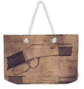Winchester Rifle Patent Weekender Tote Bag