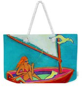 Wind Beneath My Wings I Weekender Tote Bag by Xueling Zou