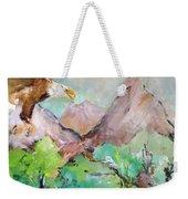 Wind Beneath My Wings Weekender Tote Bag