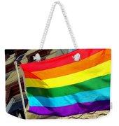 Wind Blown Pride Weekender Tote Bag