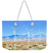 Wind Farm Palm Springs Weekender Tote Bag