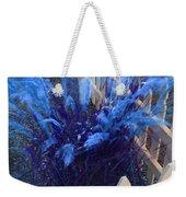 Wind In The Grass - Blue Weekender Tote Bag