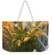 Wind In The Grass Weekender Tote Bag