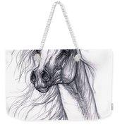 Wind In The Mane 2 Weekender Tote Bag by Angel  Tarantella