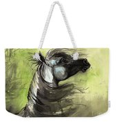 Wind In The Mane 3 Weekender Tote Bag