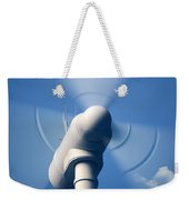 Wind Turbine Rotating Close-up Weekender Tote Bag