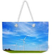 Wind Turbines Farm Weekender Tote Bag
