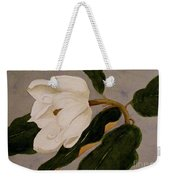 Windblown Magnolia Weekender Tote Bag
