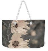 Windblown Wild Sunflowers Weekender Tote Bag