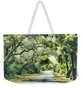 Winding Path Weekender Tote Bag