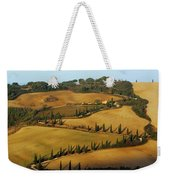 Winding Road And Cypress Trees In Tuscany 1 Weekender Tote Bag