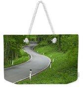 Winding Road In The Woods Weekender Tote Bag