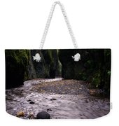 Winding Through Oneonta  Gorge Weekender Tote Bag