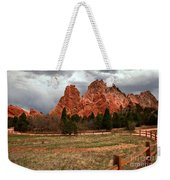 Winding Through The Garden Of The Gods Weekender Tote Bag