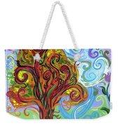 Winding Tree Weekender Tote Bag by Genevieve Esson