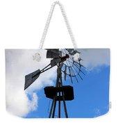 Windmill And Sky Weekender Tote Bag