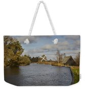 Windmill How Hill Weekender Tote Bag