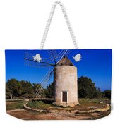 Windmill In El Pilar De La Mola On Formentera Weekender Tote Bag