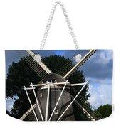 Windmill In Dutch Countryside Weekender Tote Bag