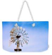 Windmill In Winter Weekender Tote Bag