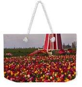 Windmill Of Flowers Weekender Tote Bag