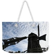 Windmill On A Cloudy Day Weekender Tote Bag