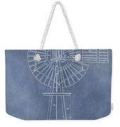 Windmill Patent Weekender Tote Bag