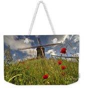Windmill Poppies  Weekender Tote Bag