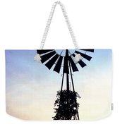 Windmill Silhouette Weekender Tote Bag