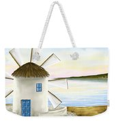 Windmill Weekender Tote Bag by Veronica Minozzi