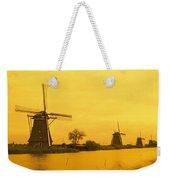 Windmills Netherlands Weekender Tote Bag