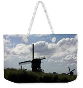 Windmills Silhouette Weekender Tote Bag