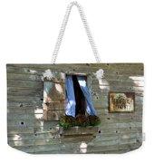 Window And Flowerbox Weekender Tote Bag