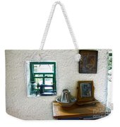 Window And Little Dressing Table In An Old Thatched Cottage Weekender Tote Bag