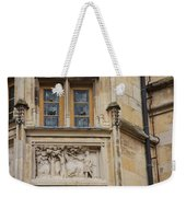 Window And Relief Palace Ducal Weekender Tote Bag