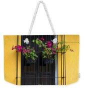 Window At Old Antigua Guatemala Weekender Tote Bag