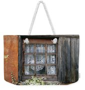 Window At Old Santa Fe Weekender Tote Bag