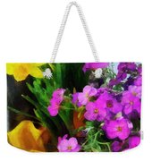 Window Box On A Windy Day Weekender Tote Bag