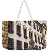 Window Boxes In Germany Weekender Tote Bag