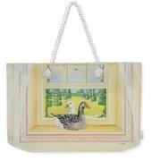 Window Geese Weekender Tote Bag