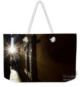 Window In An Alley With Sunlight Weekender Tote Bag