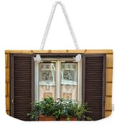 Window In Rome Weekender Tote Bag