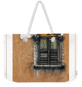 Window In Verona Poster Weekender Tote Bag