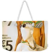 Window Mannequin 6 Weekender Tote Bag